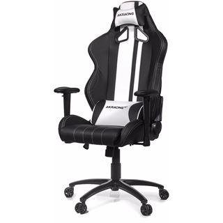 AKRacing Rush Gaming Chair schwarz/weiß