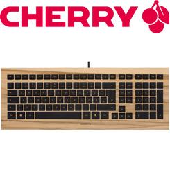 Cherry Strait Exklusive Edition Testa Motari - edelstes Holz trifft auf Design-Tastatur